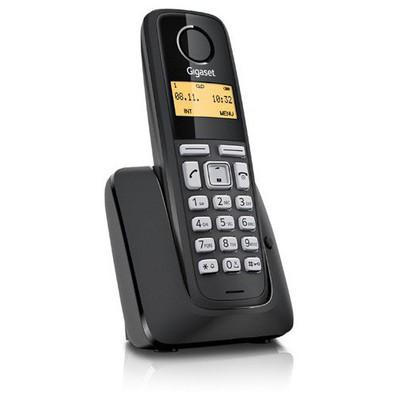 Gigaset  As130-black Dect 50 Rehber Caller Id Siyah Alarm