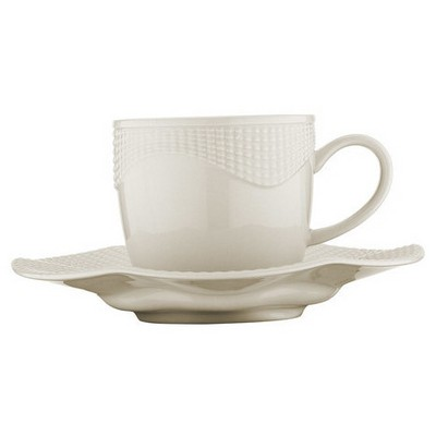 Mitterteich Milena Krem Kahve Fincan Takımı Çay Seti