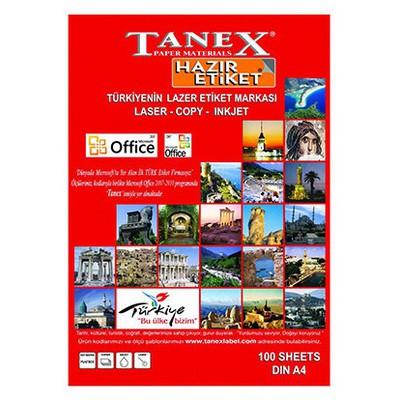 Tanex Tw-2027 70 X 32 Mm, 125 Etiket