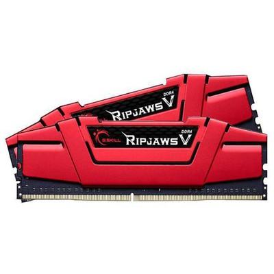 G.Skill Ripjawsv Kırmızı Ddr4-3000mhz Cl15 16gb (2x8gb) Dual (15-16-16-35) 1.35v RAM