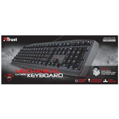 Trust 21137 Gxt 880 Mekanik Klavye