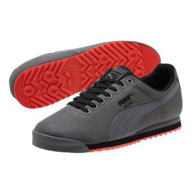 Puma 55698 361165-04 Roma Hm Steel Gray Black 361165-04