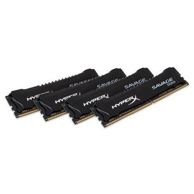 Kingston HyperX Savage Black 4x8GB Bellek (HX426C13SB2K4/32)