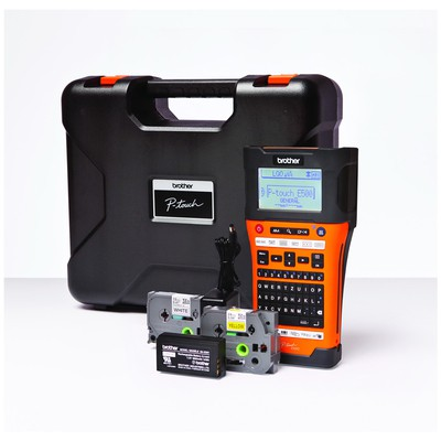 Brother P-touch Pt-e550wvp 6 - 24mm Baskı Tze Serisi Etiket Bilgisayar Bağlantılı El Tipi Wireless Li-ion Pil Etiket Makinesi