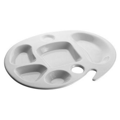 Kütahya Porselen Bölmeli Kahvaltı Tabağı Tabak