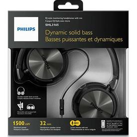 Philips Shl3165bk/00 Mikrofonlu Kulaküstü Kulaklık Siyah Kafa Bantlı Kulaklık