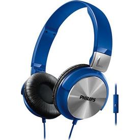 Philips Shl3165bl/00 Mikrofonlu Kulaküstü Kulaklık Mavi Kafa Bantlı Kulaklık