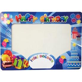 parti-paketi-happy-birthday-mavi-fotograf-cektirme-cercevesi-kucuk-48x67cm