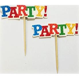 Parti Paketi Party, Dekoratif Parti Kürdanı 20 Adet Diğer Parti Aksesuarları