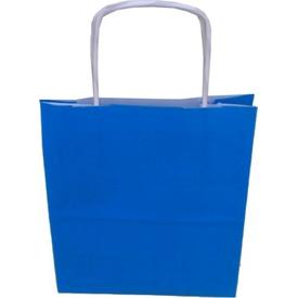 Parti Paketi Mavi Kraft Hediye Torbası 5 Adet Hediye Poşeti
