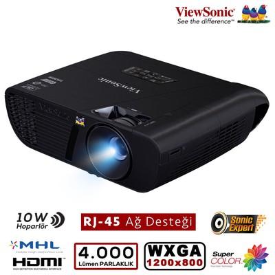 Viewsonic Pjd7526w Dlp Wxga 1280x800 4000al 3d Hdmı/mhl,2xvga,rj-45 22.000:1 Projeksıyon Projeksiyon Cihazı