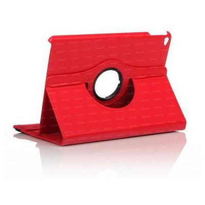 Dark Dk-ac-ıp6krtrd Ipad Air 2 360 Hareketli Kırmızı Deri Kılıf Tablet Kılıfı