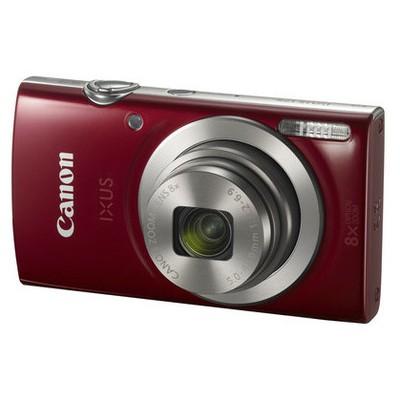"Canon Ixus-175-red 20mp 8x 2,7"" Hd Kırmız Fotoğraf Makinesi"