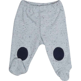 Bibaby 57321 London Bebek Patikli Pantolon Mavi 0-3 Ay (56-62 Cm) Pantolon & Şort