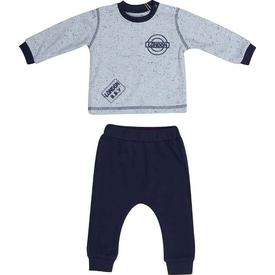 Bibaby 59314 London Bebek 2 Li Takım Mavi 6-9 Ay (68-74 Cm) Erkek Bebek Takım
