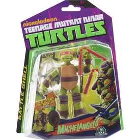 Giochi Preziosi Ninja Turtles Aksiyon Figür Açılan Kabuk Michelangelo Figür Oyuncaklar