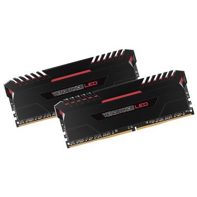 Corsair Vengeance LED Red 2x8GB Bellek - CMU16GX4M2C3000C15R