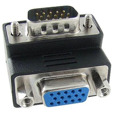 Dark Dk-hd-avgax90 Vga Erkek - Vga Dişi 90° Dirsek Dönüştürücü Çevirici Adaptör