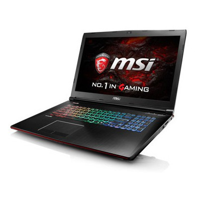 MSI Nb Ge72vr 6rf(apache Pro)-088xtr I7-6700hq 32gb Ddr4 Gtx1060 Gddr5 3gb 256gb +1tb 7200rpm 17.3 Fhd Dvd Dos Laptop