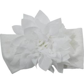 Artı Çorap Artı 19000 Junıor Baby Bebek Aksesuarlı Saç Bandı Ekru-yıldız Çiçek 0-6 Ay Kız Bebek Saç Aksesuarı