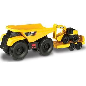 CAT Mini Iş Makinaları Sesli Ve Işıklı 2 Li Set Model 1 Erkek Çocuk Oyuncakları