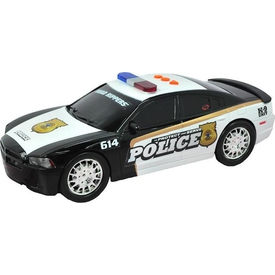 Road Rippers Protect Serve Sesli Işıklı Polis Aracı Dodge Charger Arabalar