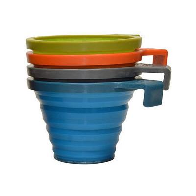 Bear Grylls Pack-ıt Cup Katlanır Bardak B1484 Bardak, Kupa, Sürahi