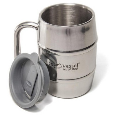 Eco Vessel Double Barrel 0,50 Lt Mug Mug500 Bardak & Kupa