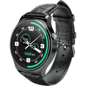 Dark Dk-ac-sw08bl Sw08 Smart Design Android Ve Ios Uyumlu Akıllı Saat (siyah Deri Kayış) Giyilebilir Teknoloji