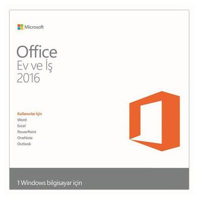 Microsoft Ms Office H&b 2016 32/*64 Tr Dvd Ofis Yazılımı