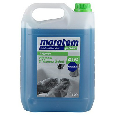 Maratem Sıvı Sabun 5 L Model M102 Kova ve Temizlik Setleri