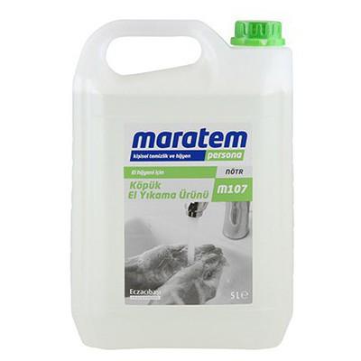 Maratem M107 Köpük Sabun 5 Lt Kova ve Temizlik Setleri