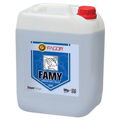 Fagor Famy Köpük Sabun 5 Kg Kova ve Temizlik Setleri
