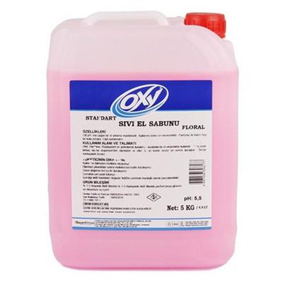 OXY Sıvı Sabun Floral 5 Kg Kova ve Temizlik Setleri