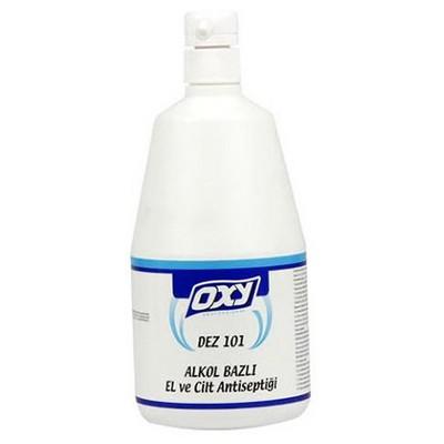 OXY Dez-101 Alkol Bazlı El Ve Cilt Antiseptiği 1 Lt Kova ve Temizlik Setleri
