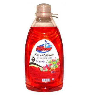Nilem Sıvı Sabun Lovely 2000 Ml Kova ve Temizlik Setleri