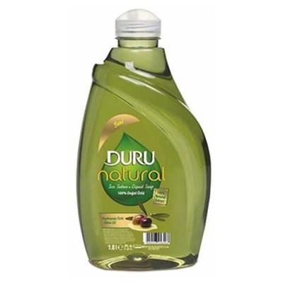 Duru Naturel Sıvı Sabun Zeytinyağlı 1.8 L Kova ve Temizlik Setleri