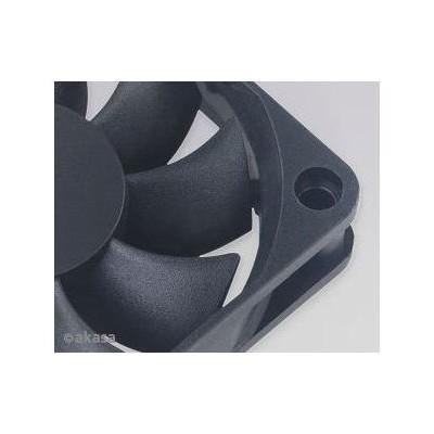 Akasa 6cm Klasik Siyah Fan (AK-DFS601512M)