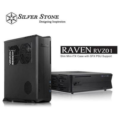 Silverston Raven RVZ01 mini ITX Kasa (SST-RVZ01)
