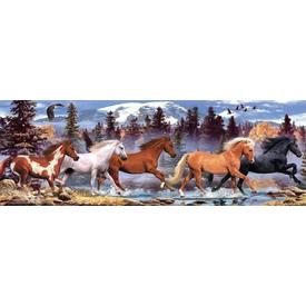 Anatolian 1000 Parça  Koşan Atlar Puzzle