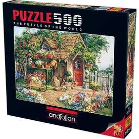 Anatolian 500 Parça  Cennet Bahçesi Puzzle