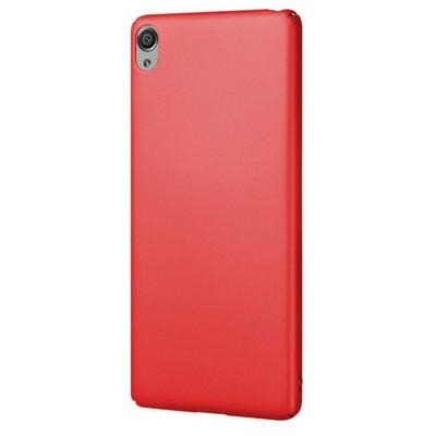 Microsonic Sony Xperia Xa Kılıf Premium Slim Kırmızı Cep Telefonu Kılıfı