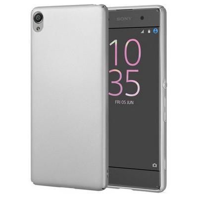 Microsonic Sony Xperia Xa Kılıf Premium Slim Gümüş Cep Telefonu Kılıfı