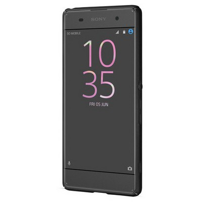 Microsonic Sony Xperia Xa Kılıf Premium Slim Siyah Cep Telefonu Kılıfı