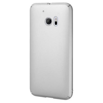 Microsonic Htc 10 Kılıf Premium Slim Gümüş Cep Telefonu Kılıfı
