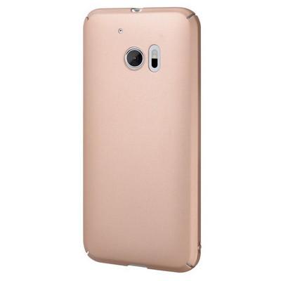 Microsonic Htc 10 Kılıf Premium Slim Gold Cep Telefonu Kılıfı