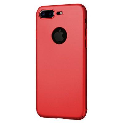 Microsonic Iphone 7 Plus Kılıf Premium Slim Kırmızı Cep Telefonu Kılıfı