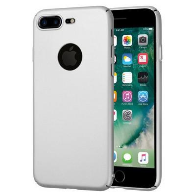 Microsonic Iphone 7 Plus Kılıf Premium Slim Gümüş Cep Telefonu Kılıfı