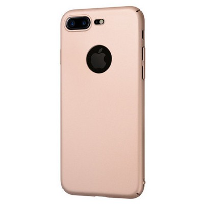 Microsonic Iphone 7 Plus Kılıf Premium Slim Gold Cep Telefonu Kılıfı
