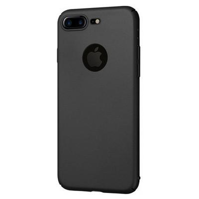Microsonic Iphone 7 Plus Kılıf Premium Slim Siyah Cep Telefonu Kılıfı